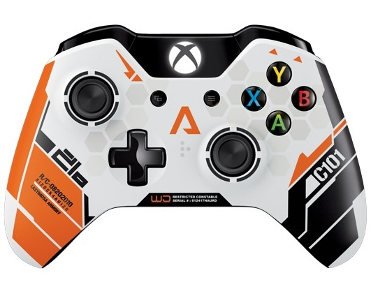 Titanfall Limited Edition pad