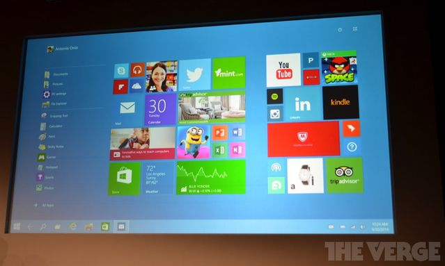 Windows 10 Ekran startowy