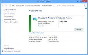 Windows 10 Windows Update