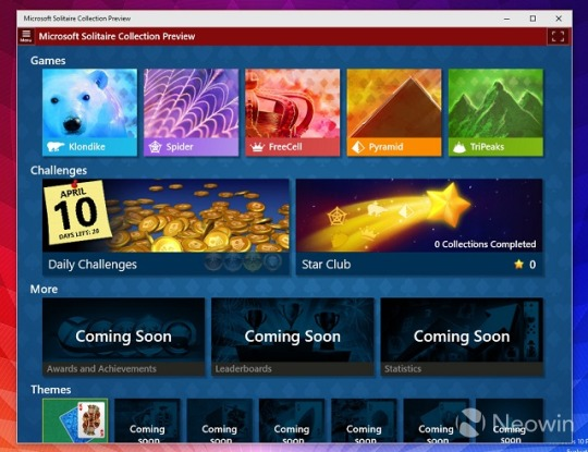 Pasjans Windows 10