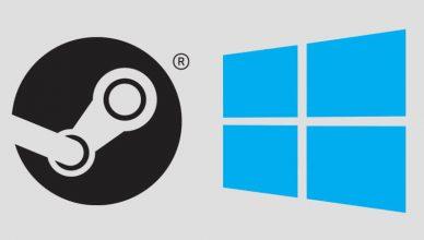 Windows 10 i Steam