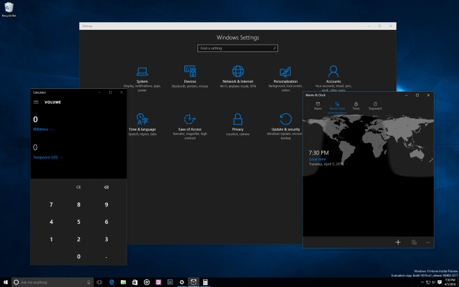 windows 10 build 14316