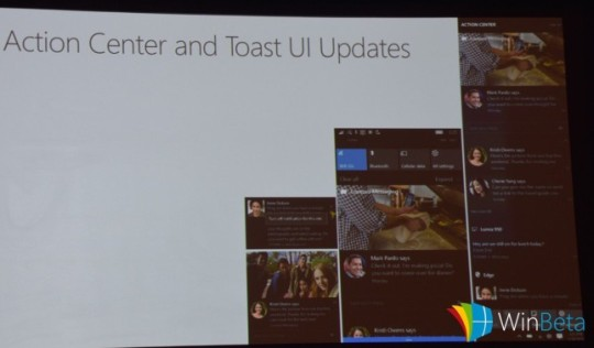 Nowe centrum akcji w Windows 10