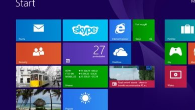 Windows 8.1 kafelki