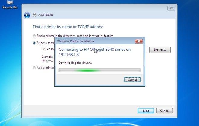 Sterowniki drukarki Windows