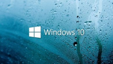 windows 10 logo krople