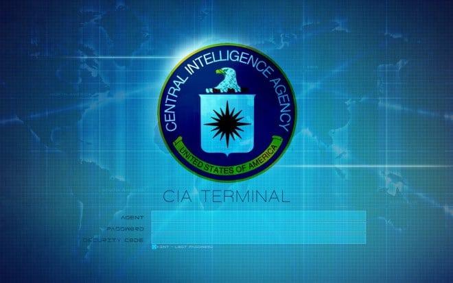 CIA logo, terminal