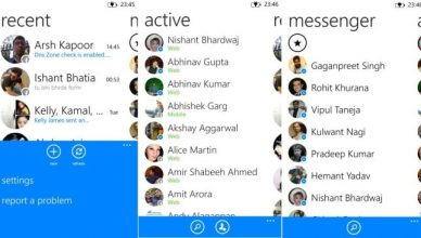 Messenger Windows Phone