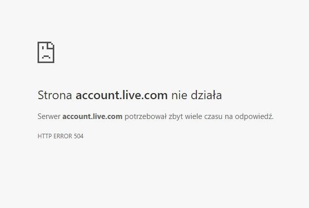 Microsoft live logowanie