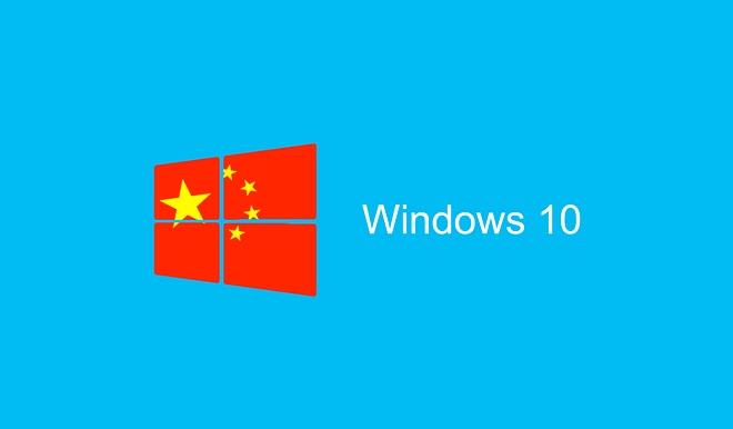 Windows 10 Chiny