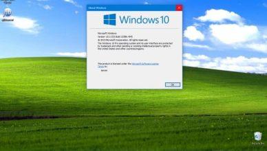 Win10 - Win XP