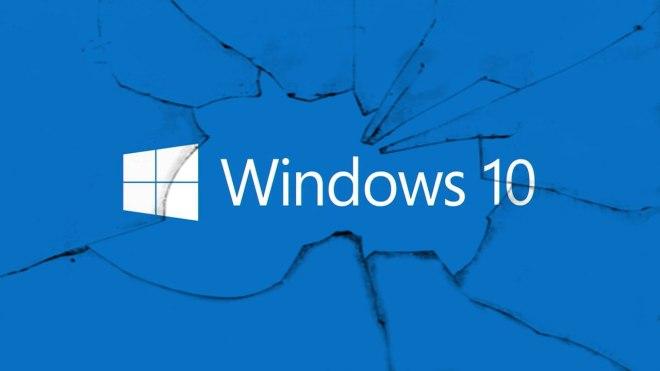 Windows 10 zepsuty