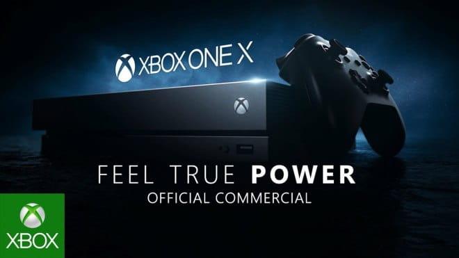 Xbox One X reklama