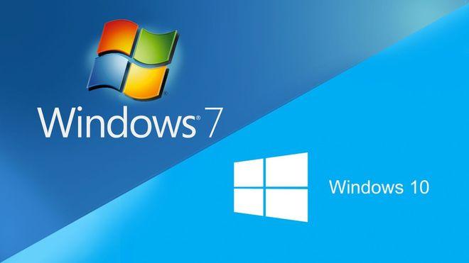 Windows 7, 10 migracja