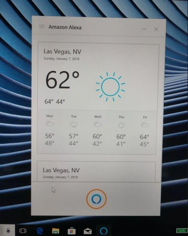 Alexa Windows 10