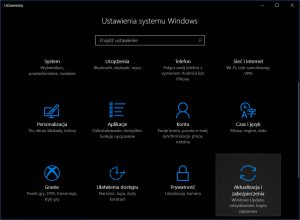 Windows 10 Ustawienia