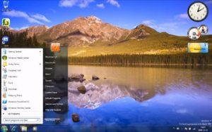 Windows 7 Beta 1 build 7000