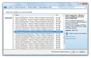 Instalacja spolszczenia dla Windows 7