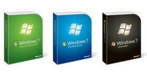 Porównanie wersji Windows 7