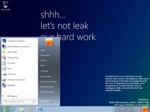 Windows 8 Milestone 1