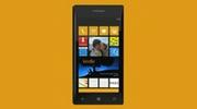 windows phone 8 phone yellow