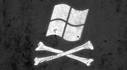 windows pirated flag