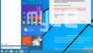 Windows 9 (Treshold) slide