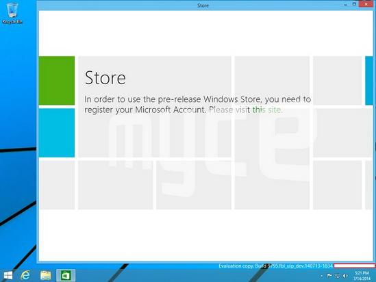 Windows Threshold Store