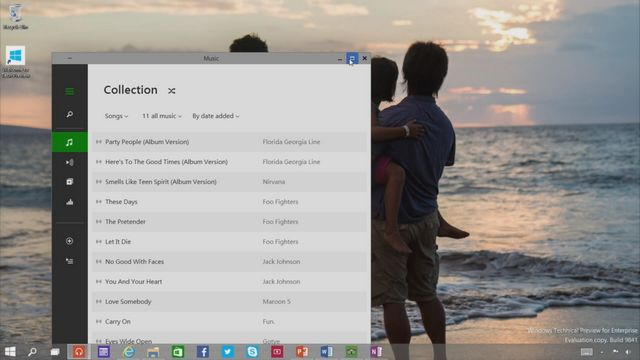Uruchamianie aplikacji z Windows Store w oknach