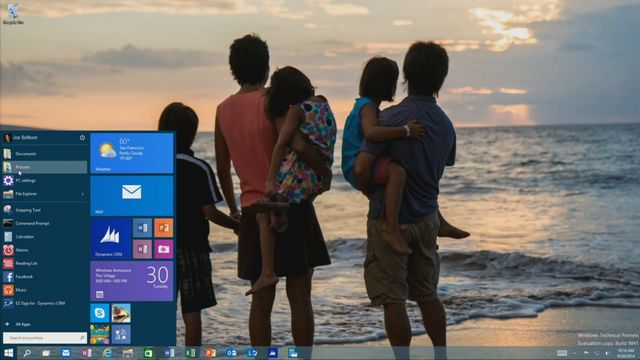 Windows 10 nowe menu start