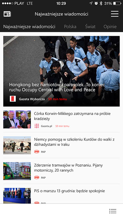 MSN News iOS