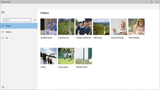 Aplikacja Video dla Windows 10