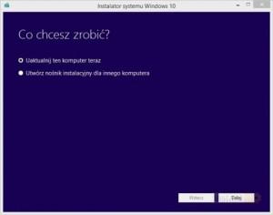 Instalator Windows10