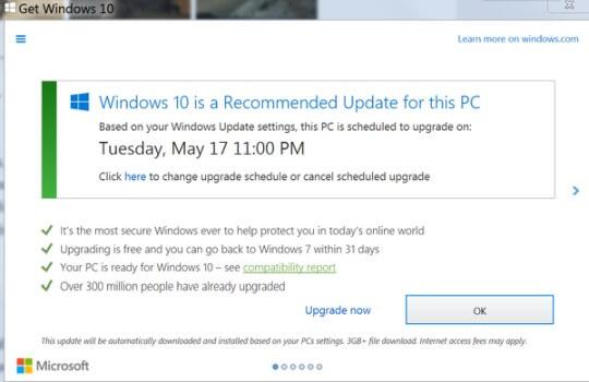 Windows 10 aktualizacja