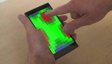 Obsługa smartfona bez dotykania ekranu