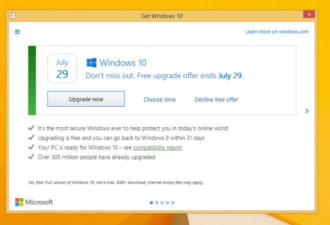 Windows 10 aktualizacja okienko