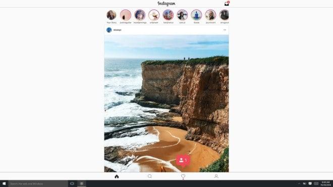 Instagram Windows 10