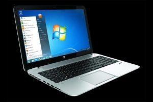 Windows 7 notebook