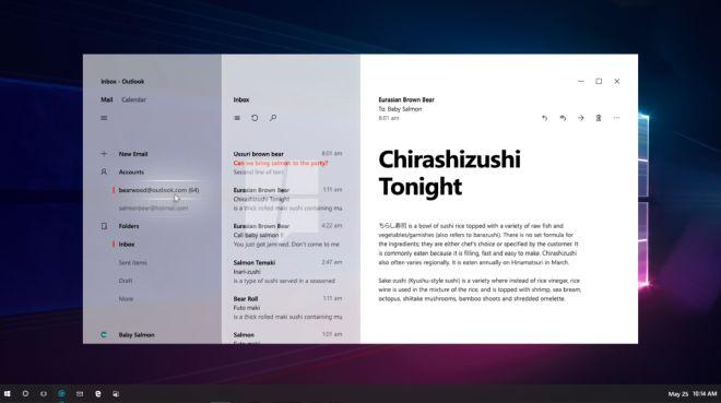Aplikacja Outlook w Windows 10