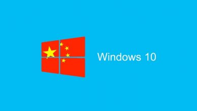 Windows 10 Chiny