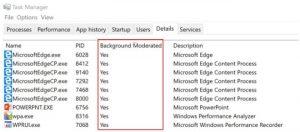 Power Throttling Windows 10