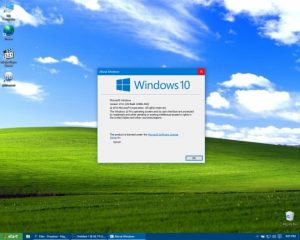 Windows 10 - Windows XP