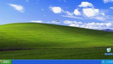 Windows XP pulpit