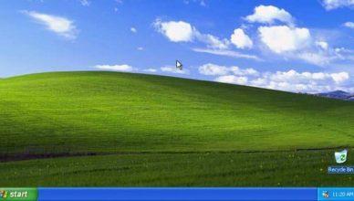 Windows XP pulpit