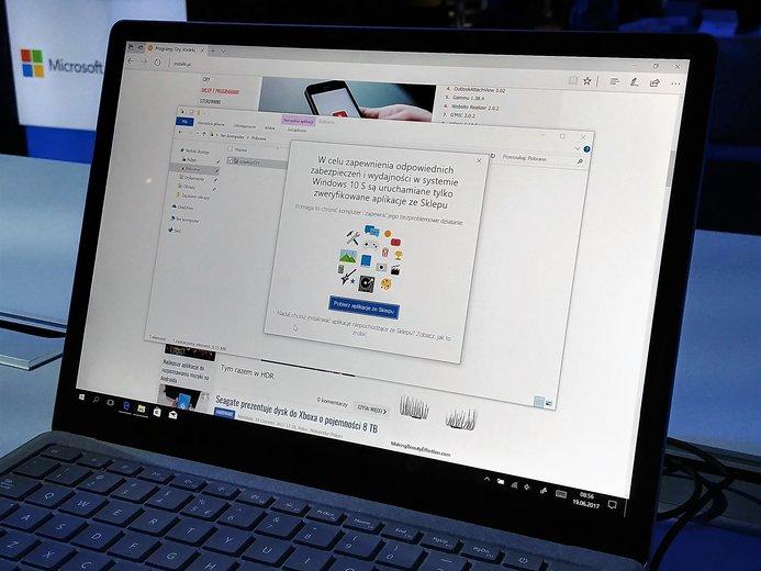 Windows 10 S aplikacje