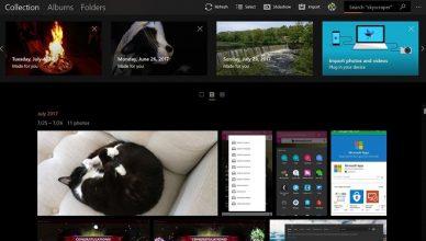 Aplikacja zdjęcia Windows 10