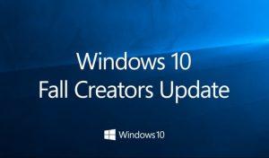 Fall Creator Update