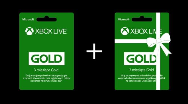 xbox live gold promocja