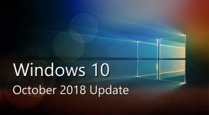 October Update 2k18