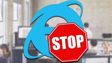 Internet Explorer Stop